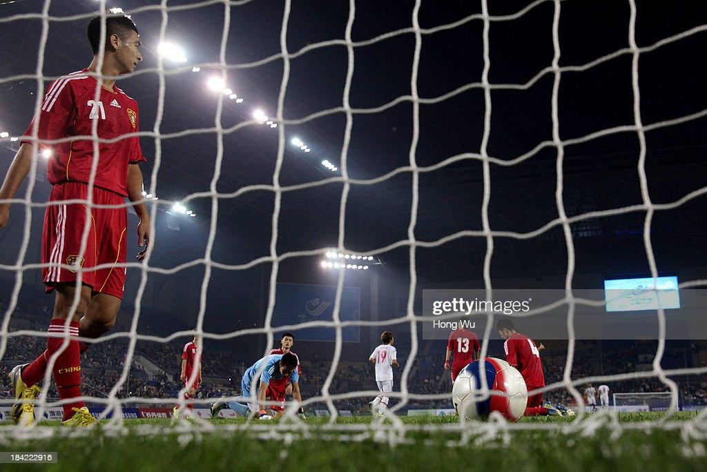 Japan v China - Men's Football - 6th East Asian Games : ニュース写真