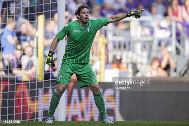 goalkeeper Federico Marchetti of SS Lazio Roma during the preseason friendly match between RSC Anderlecht and SS Lazio Roma on July 19 2015 at the...