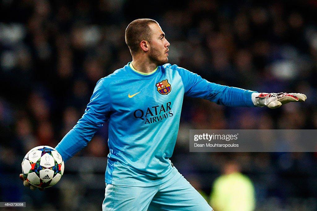 RSC Anderlecht v FC Barcelona - UEFA Youth League Round of 16 : News Photo