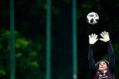 moscow russia goalkeeper guillermo ochoa mexico