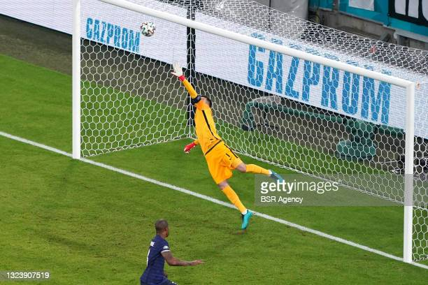 Goalkeeper Hugo Lloris of France during the UEFA Euro 2020 match between France and Germany at Allianz Arena on June 15, 2021 in Munich, Germany