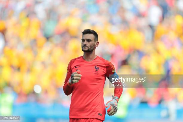 goalkeeper Hugo Lloris of France National team during a Group C 2018 FIFA World Cup soccer match between France and Australia on June 16 at the Kazan...
