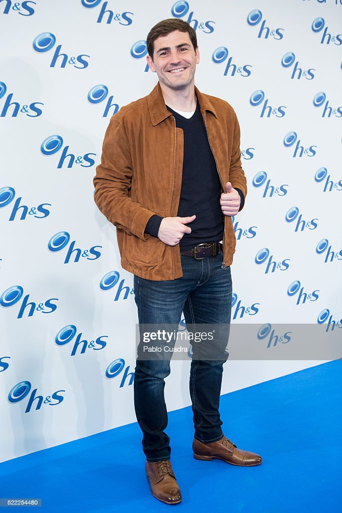 Iker Casillas Attends H&S Event in Madrid
