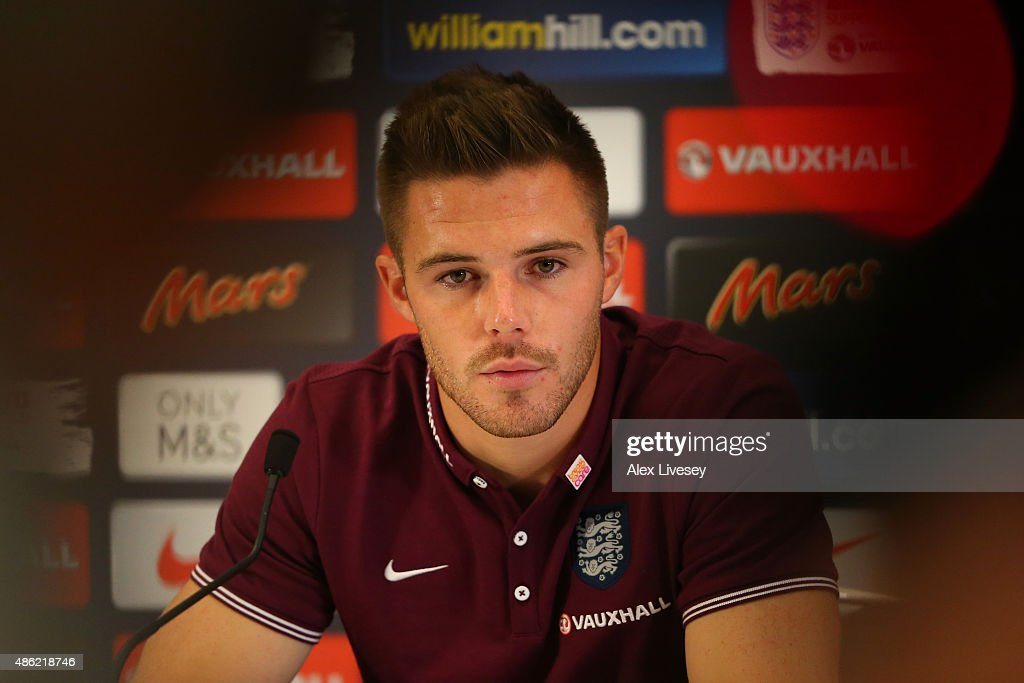 England Training Session And Press Conference : News Photo