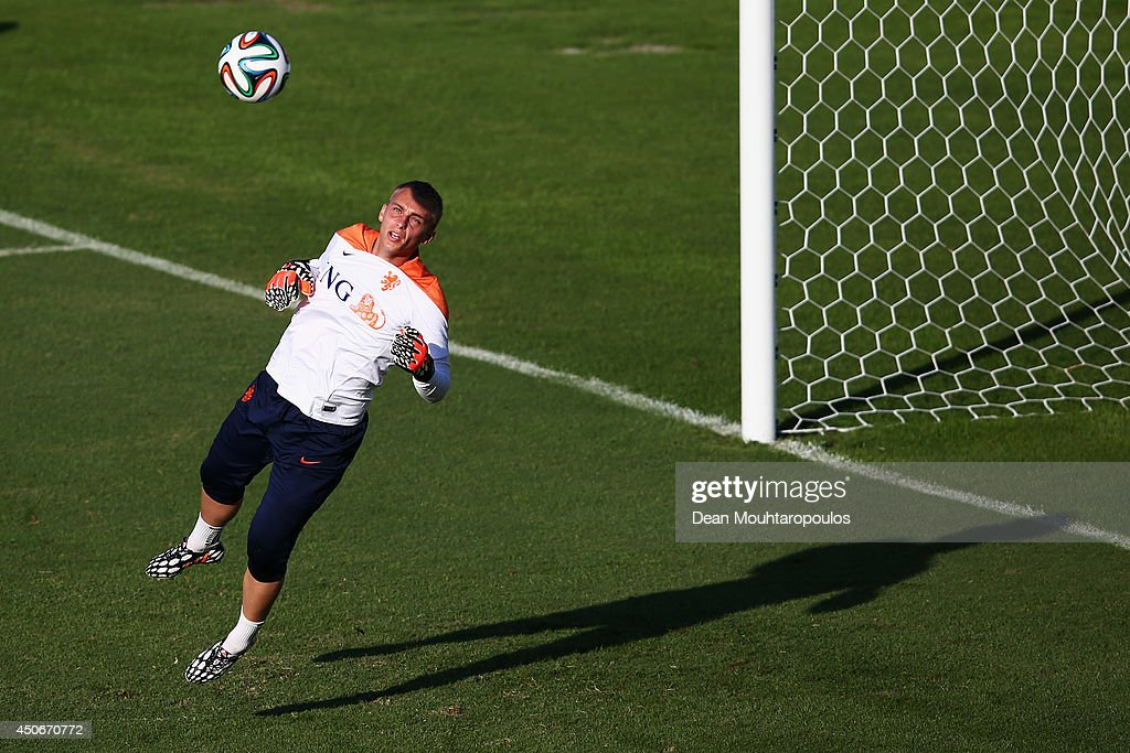 Netherlands Training & Press Conference - 2014 FIFA World Cup Brazil