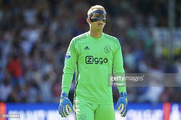 goalkeeper Jasper Cillessen of Ajax during the Dutch Eredivisie match between De Graafschap and Ajax Amsterdam at the Vijverberg on May 08 2016 in...