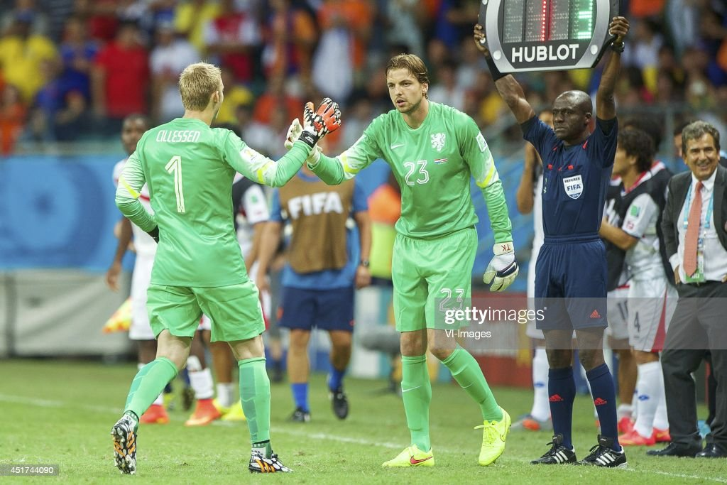 "Quarter final - ""Netherlands v Costa Rica"" : News Photo"