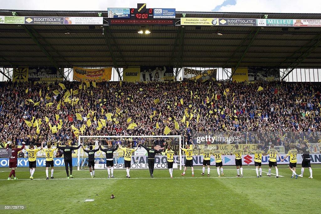 "play-offs promotion/relegation - ""NAC Breda v FC Eindhoven"" : News Photo"