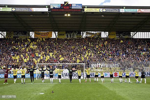 goalkeeper Jelle ten Rouwelaar of NAC Breda Michael Dingsdag of NAC Breda Uros Matic of NAC Breda goalkeeper Andries Noppert of NAC Breda Divine Naah...