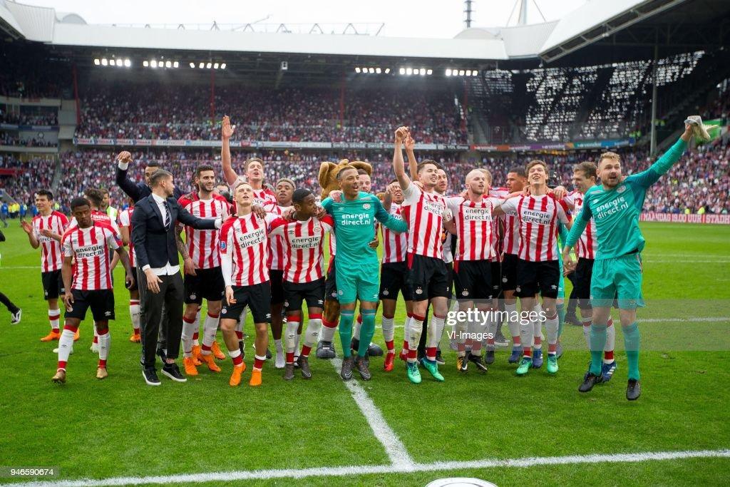 Dutch Eredivisie'PSVv Ajax' : News Photo