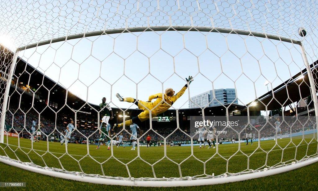 Sporting Kansas City v Portland Timbers : News Photo