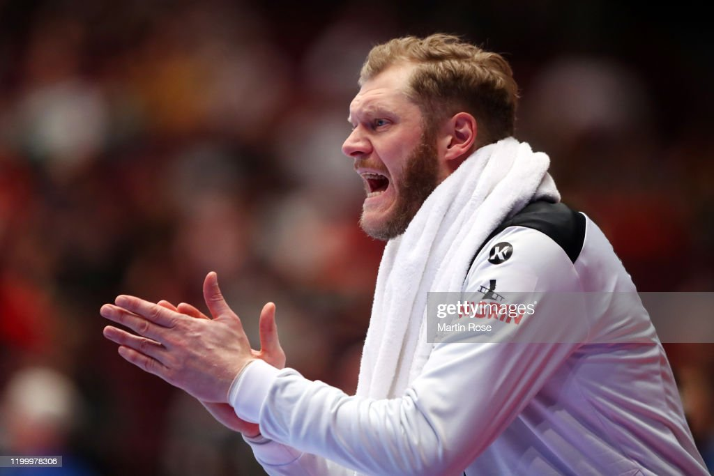Goalkeeper Johannes Bitter Of Germany Reacts During The