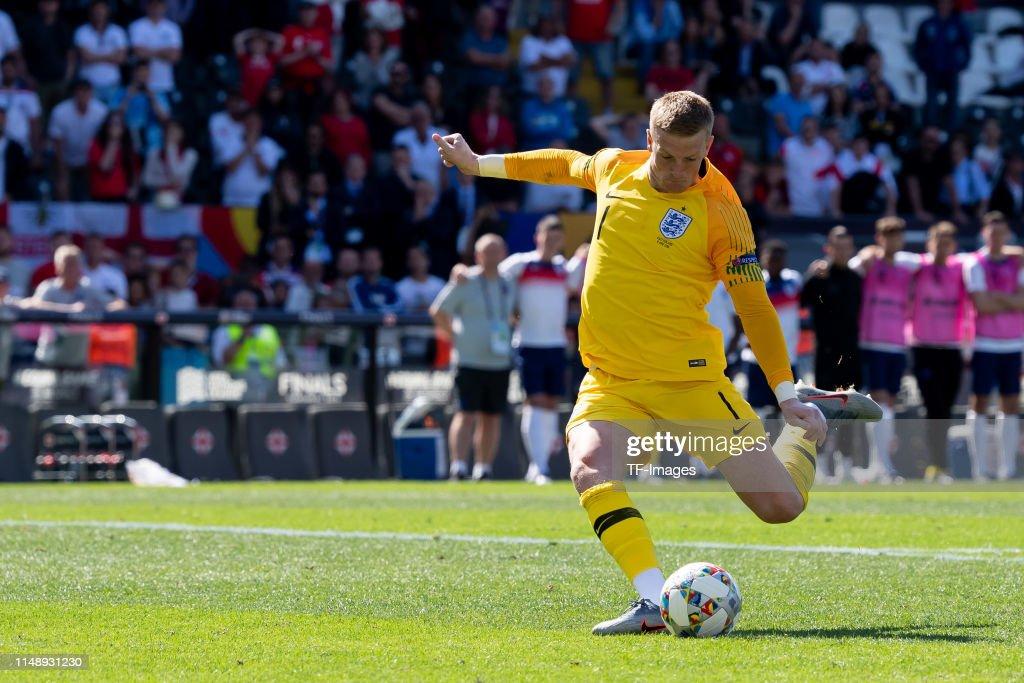 Switzerland v England - UEFA Nations League Third Place Playoff : News Photo