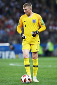 moscow russia goalkeeper jordan pickford england