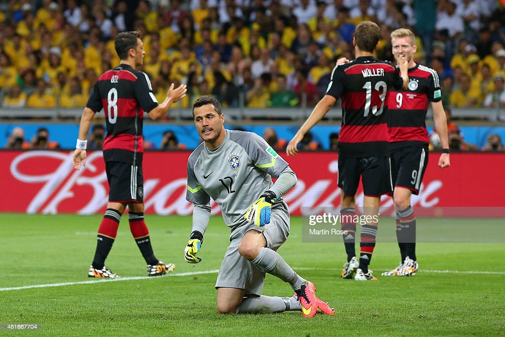Brazil v Germany: Semi Final - 2014 FIFA World Cup Brazil : News Photo