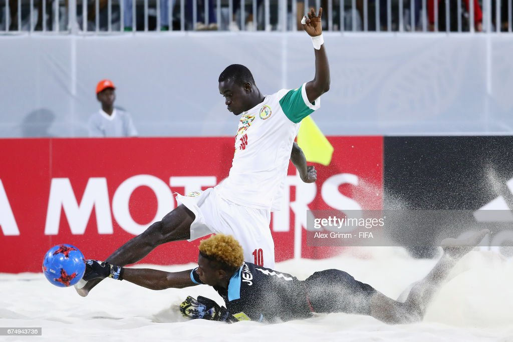 Senegal v Bahamas - FIFA Beach Soccer World Cup Bahamas 2017 : News Photo