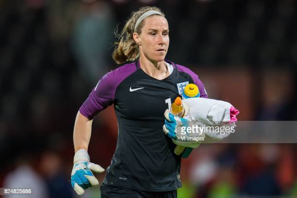 goalkeeper Karen Bardsley of England women during the UEFA WEURO 2017 quarter finale match between England and France at The Adelaarshorst on July 30...