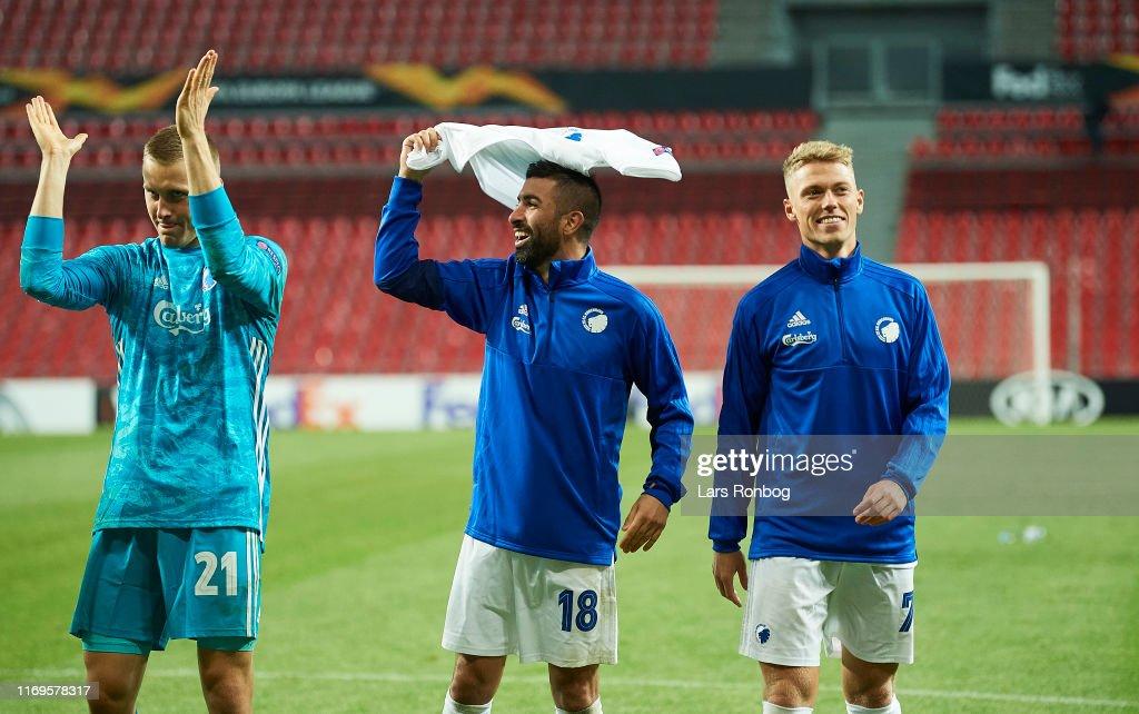 FC Copenhagen vs FC Lugano - UEFA Europa League : Fotografía de noticias