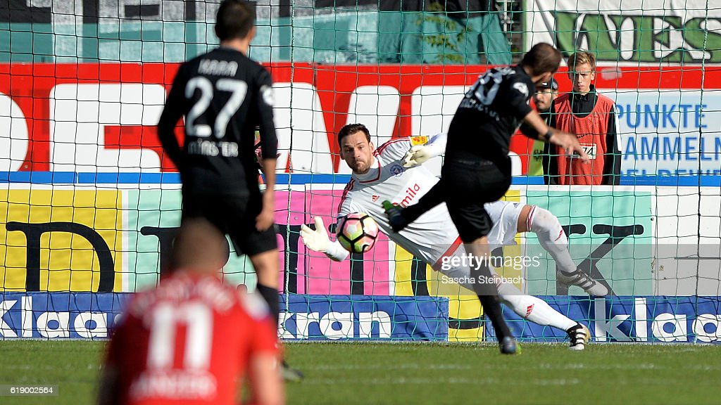 Goalkeeper Kenneth Kronholm Of Kiel Saves The Ball From A Penalty By News Photo Getty Images