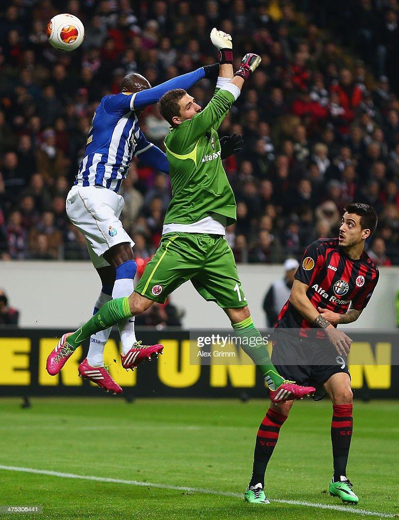 Eintracht Frankfurt v FC Porto - UEFA Europa League Round of 32