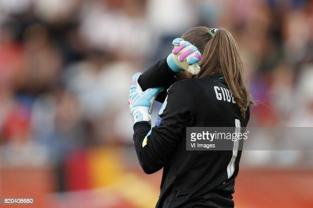 Goalkeeper Laura Giuliani of Italy Women during the UEFA WEURO 2017 Group B group stage match between Germany and Italy at Koning Willem II stadium...