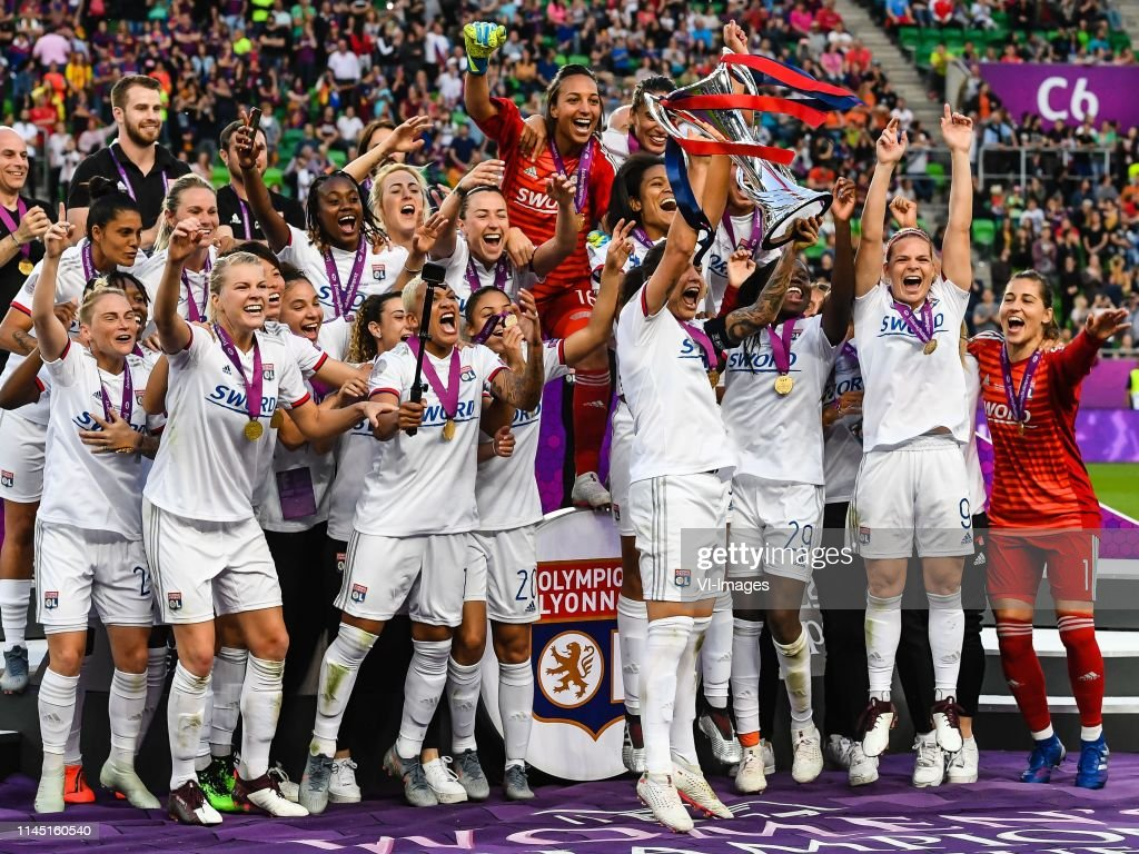 "UEFA Women's Champions League""Women: Olympique Lyonnais v FC Barcelona"" : ニュース写真"