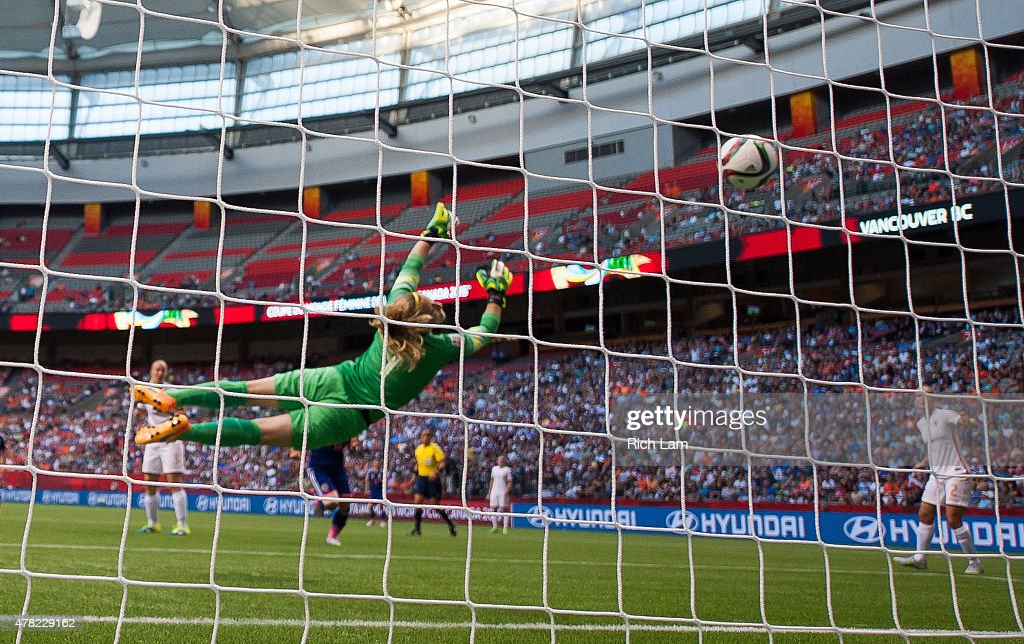 Netherlands v Japan Round of 16 - FIFA Women's World Cup 2015 : News Photo