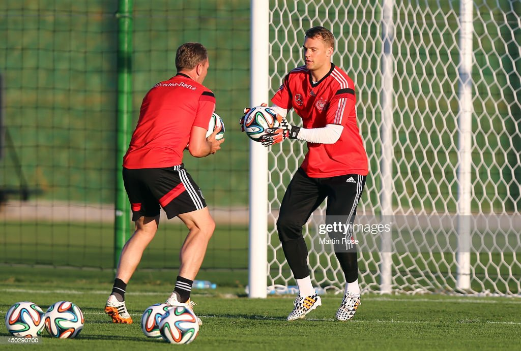 Germany Training Session - 2014 FIFA World Cup