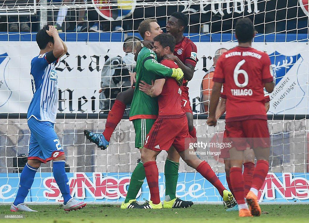 1899 Hoffenheim v FC Bayern Muenchen - Bundesliga : News Photo