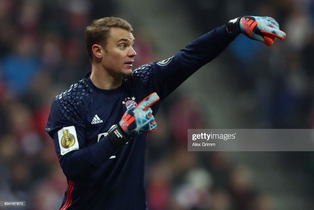 Bayern Muenchen v VfL Wolfsburg - DFB Cup Round Of 16 : News Photo