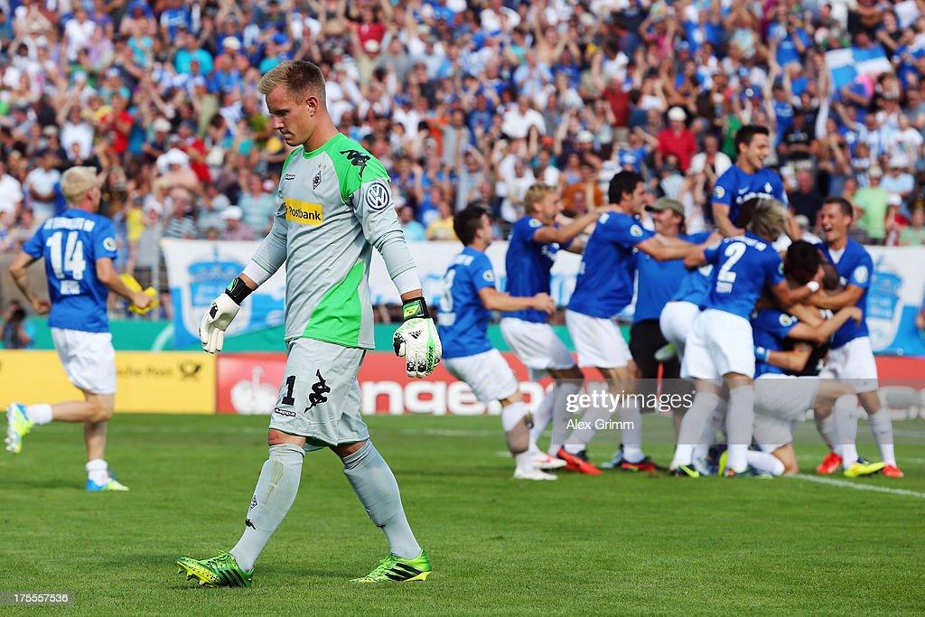 Darmstadt 98 v Borussia Moenchengladbach - DFB Cup