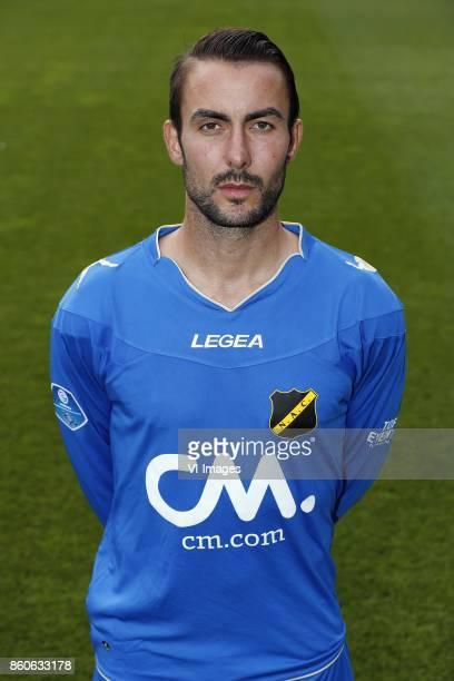goalkeeper Mark Birighitti of NAC Breda during the team presentation of NAC Breda on August 02 2017 at Autotaalglas trainingscentrum in Zundert The...