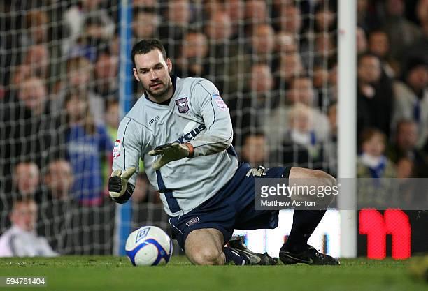 Goalkeeper Marton Fulop of Ipswich Town