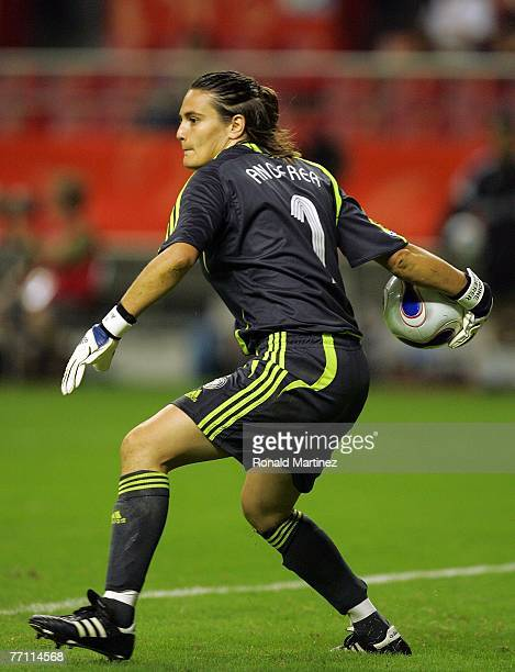 Goalkeeper Nadine Angerer of Germany during the FIFA Women's World Cup 2007 final match at Shanghai Hongkou Football Stadium on September 30 2007 in...