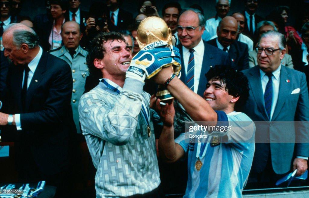 MEX: World Cup Final 1986 - Argentina v Germany : Fotografía de noticias