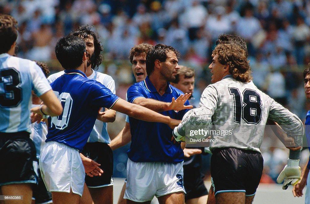 Argentina vs Italy : News Photo