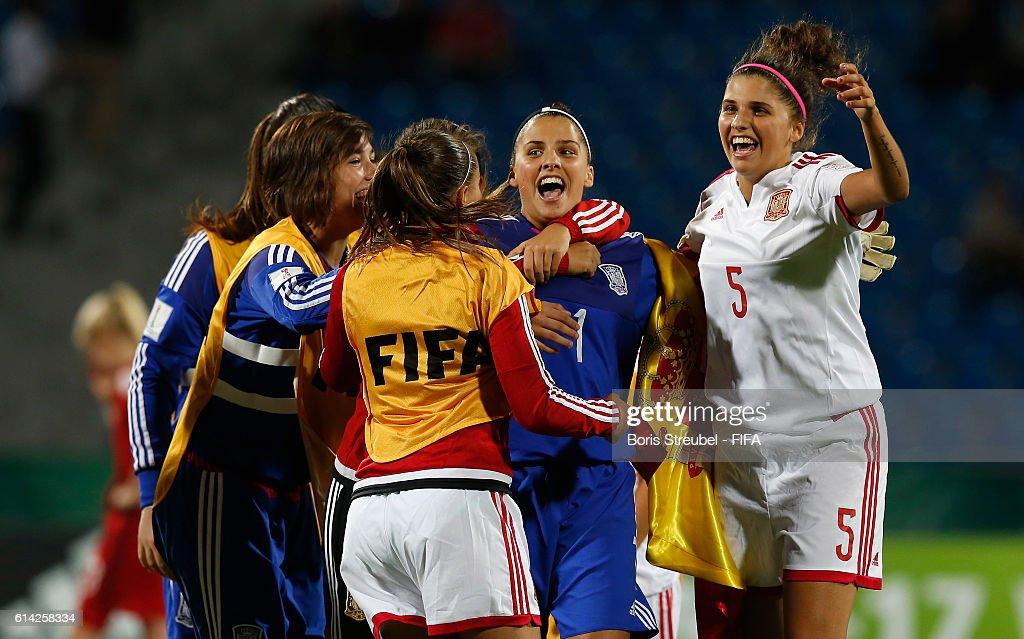 Germany v Spain: Quarter Final - FIFA U-17 Women's World Cup Jordan 2016 : News Photo