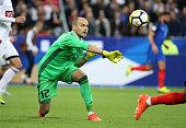 paris france goalkeeper belarus sergey chernik