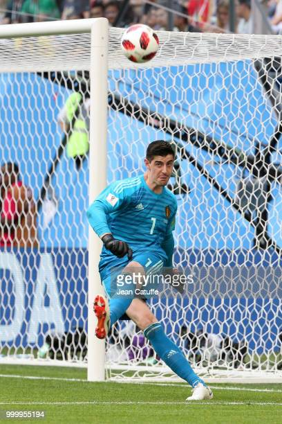 Goalkeeper of Belgium Thibaut Courtois during the 2018 FIFA World Cup Russia 3rd Place Playoff match between Belgium and England at Saint Petersburg...