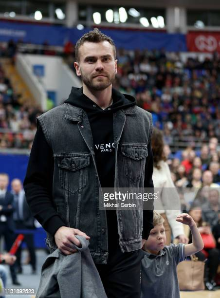 goalkeeper of FC CSKA Moscow and Russian National team Igor Akinfeev during the 2018/2019 Turkish Airlines EuroLeague Regular Season Round 28 game...