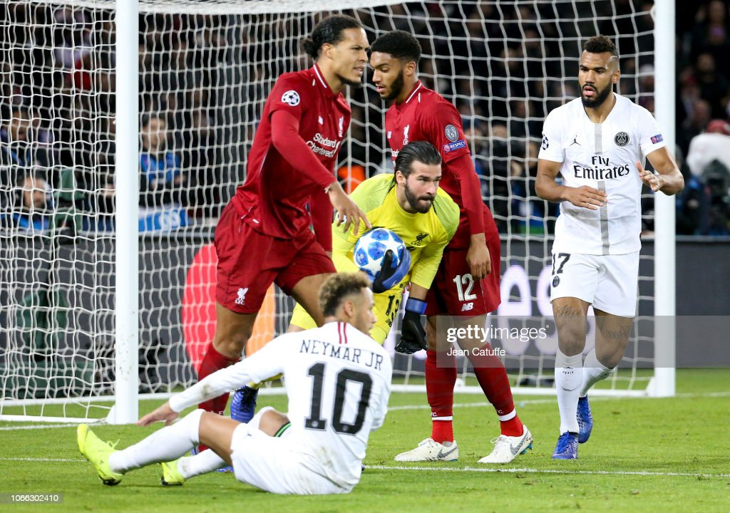 Paris Saint-Germain v Liverpool FC - UEFA Champions League Group C : News Photo