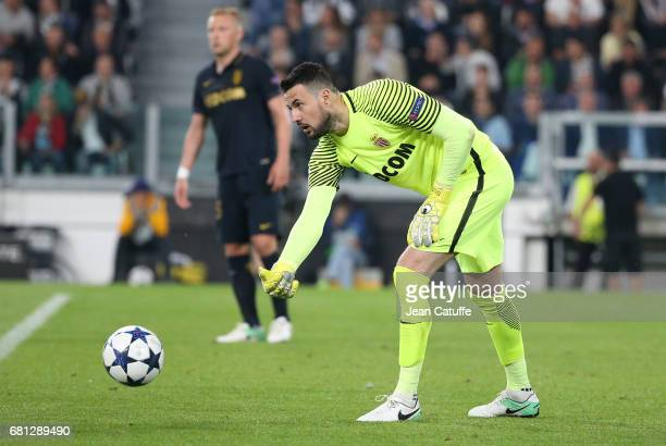 Goalkeeper of Monaco Danijel Subasic during the UEFA Champions League semi final second leg match between Juventus Turin and AS Monaco at Juventus...