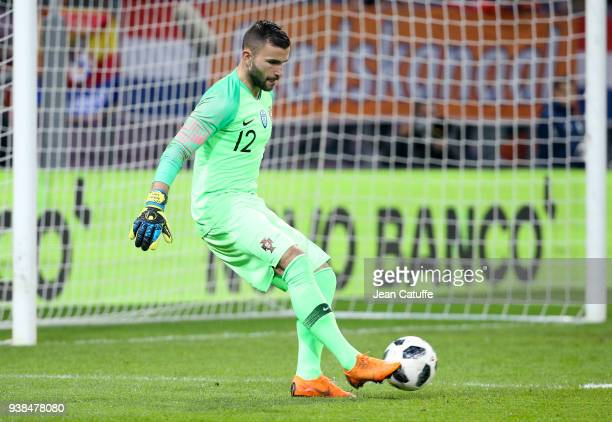 Goalkeeper of Portugal Anthony Lopes during the international friendly match between Portugal and the Netherlands at Stade de Geneve on March 26 2018...