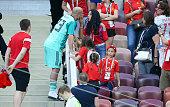 moscow russia goalkeeper spain pepe reina