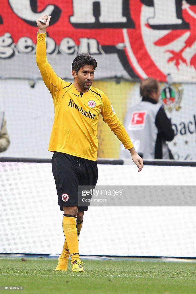 Eintracht Frankfurt v FC Schalke 04 - Bundesliga : News Photo