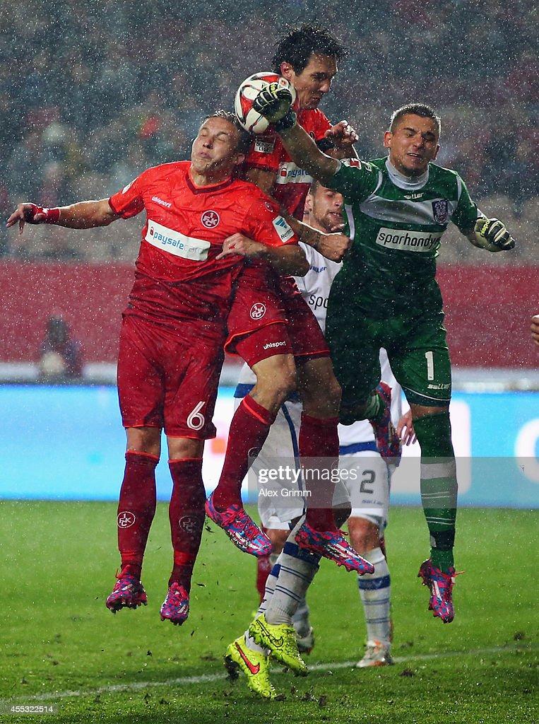 1. FC Kaiserslautern v FSV Frankfurt - 2. Bundesliga