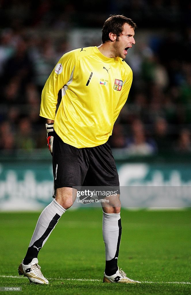Euro2008 Qualifier - Republic of Ireland v Czech Republic : News Photo