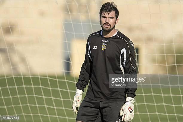 goalkeeper Piet Velthuizen of Vitesse during the training camp of Vitesse Arnhem on January 6 2015 at Alicante Spain
