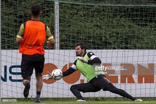 goalkeeper Piet Velthuizen of Vitesse during the training camp of Vitesse Arnhem on July 13 2015 at Feldkirchen Austria