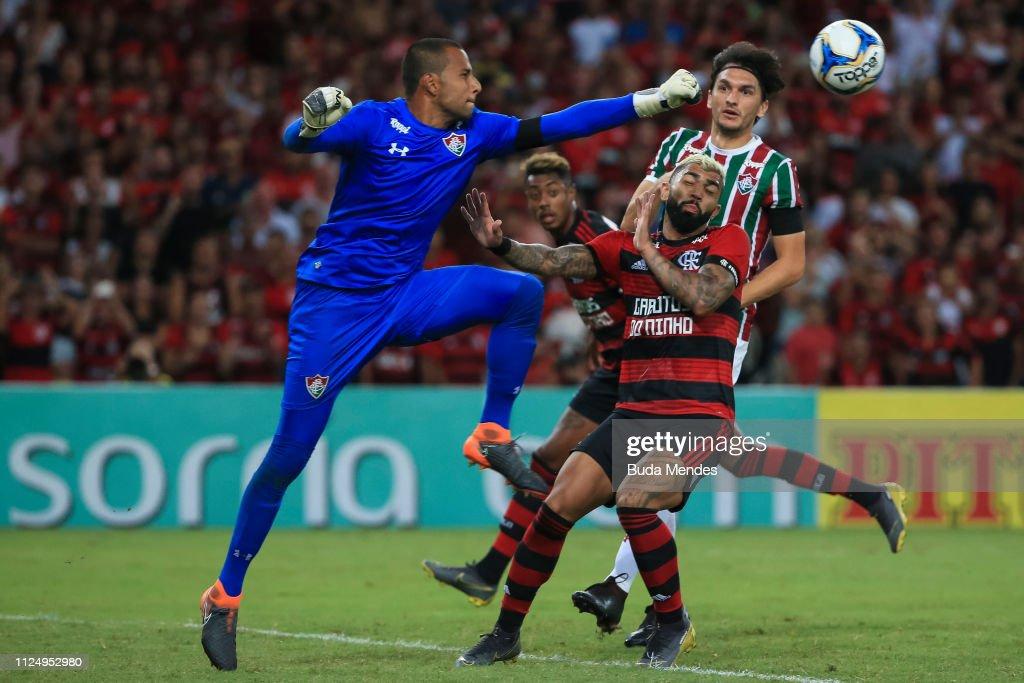BRA: Flamengo v Fluminense - State Championship Semi-Final